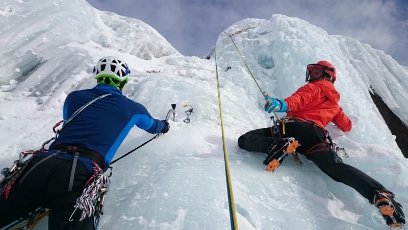 Deportes extremos como el alpinismo pueden ser peligrosos para diabéticos